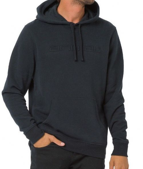 ANIMAL MENS HOODY.NEW LUNA BLACK HOODED TOP WARM HOODIE OVERHEAD JUMPER 8W 95 2
